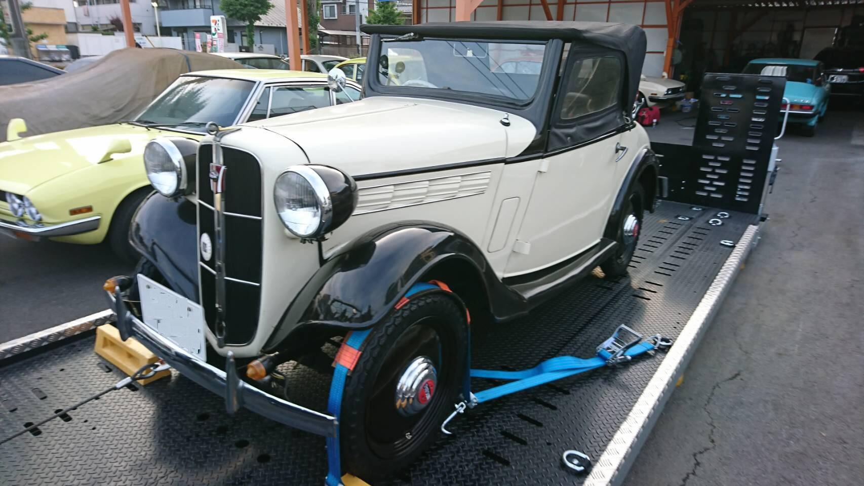 ★ダットサン ロードスター 昭和12年式 希少車!