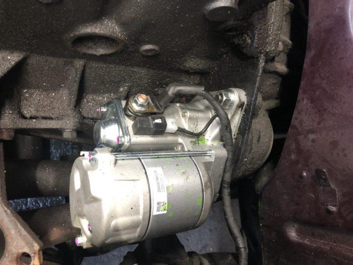 G180Wエンジンに取り付例1.4kタイプ